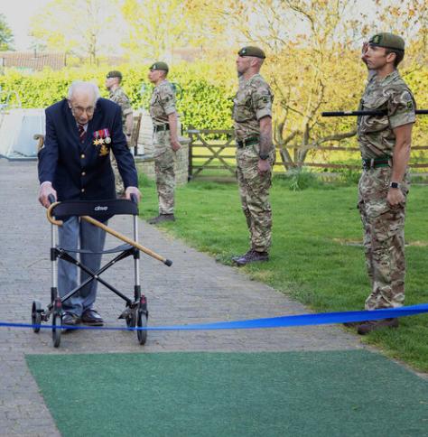 Captain Tom Moore War - COVID-19 Hero Veteran